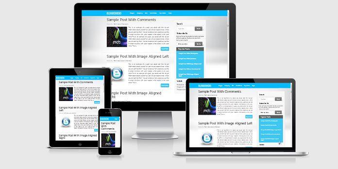 Thiết kế giao diện blog