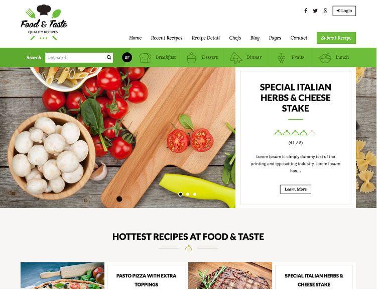 Lưu ý khi thiết kế website thực phẩm dinh dưỡng