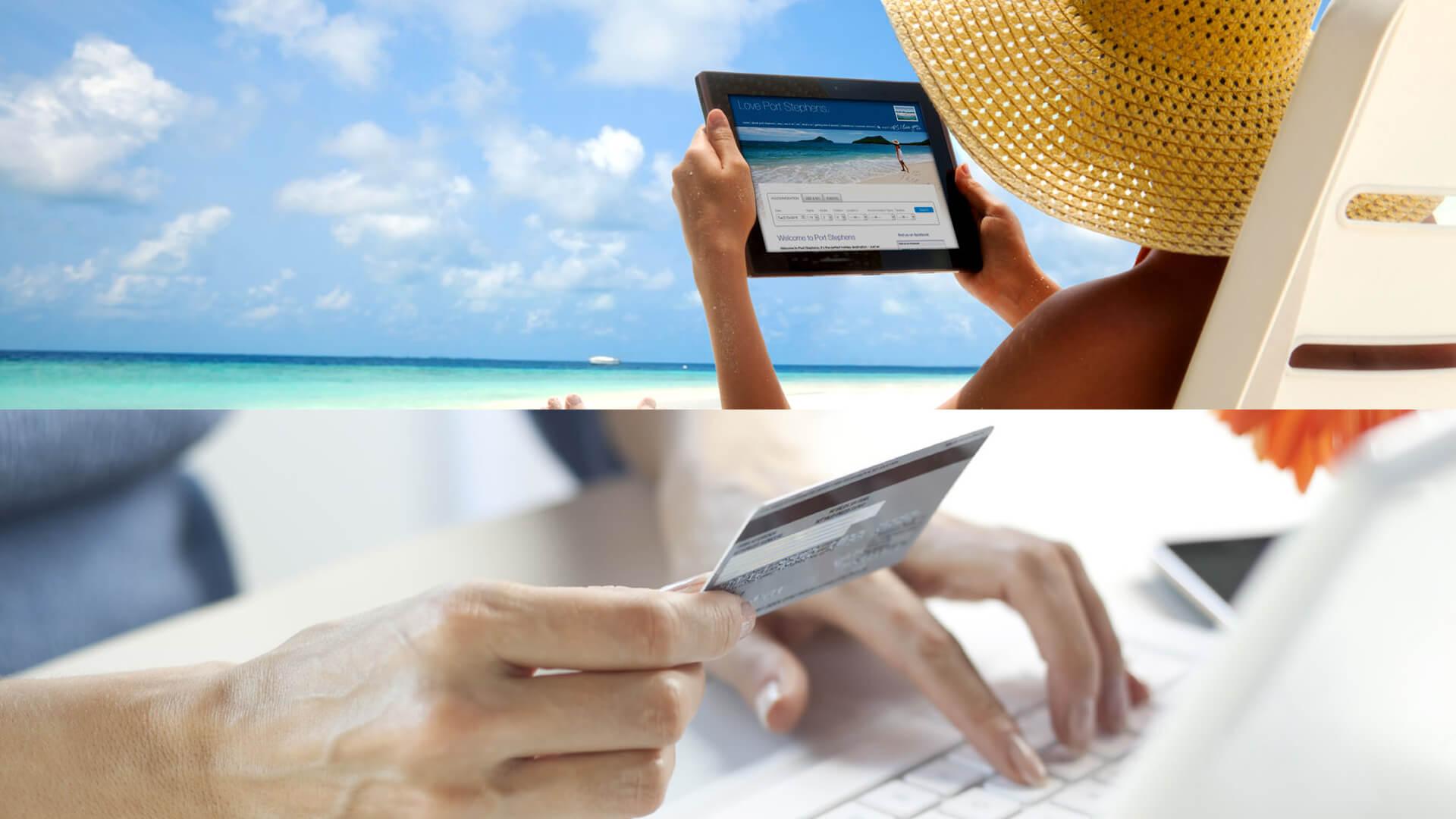 Sử dụng hệ thống đặt phòng trực tuyến chất lượng hỗ trợ cho marketing hiệu quả