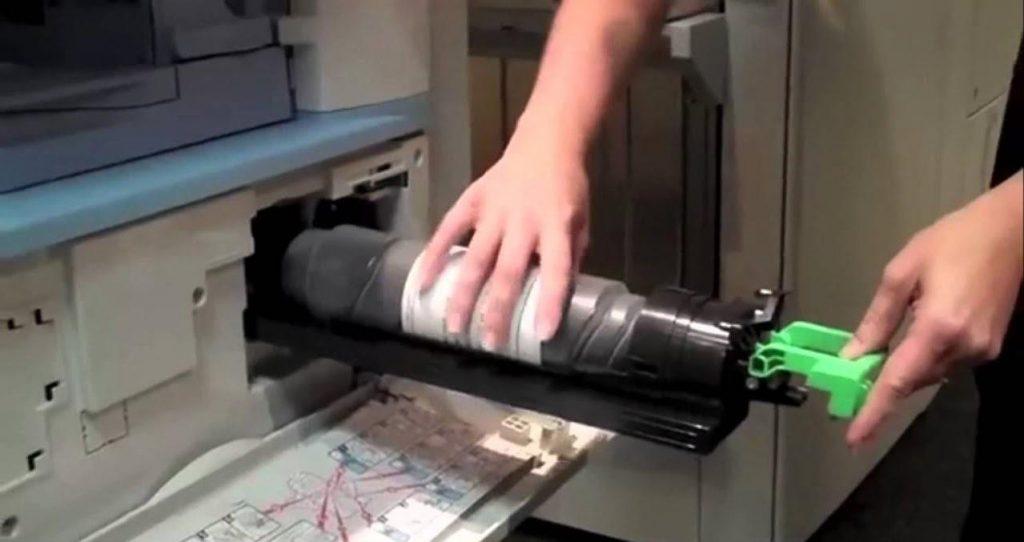 Cách chỉnh mực máy Photocopy Ricoh đậm nhạt theo ý muốn
