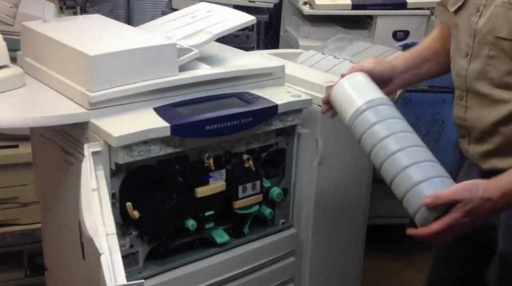 Nguyên nhân khiến máy photocopy Ricoh ra mực không đều