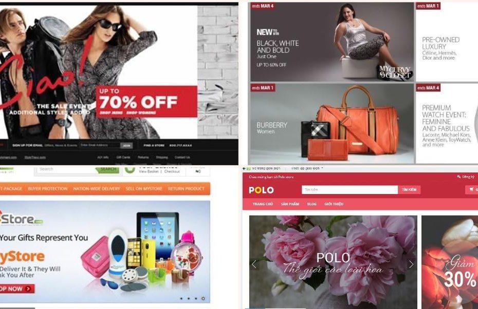 Top 10 mẫu giao diện website bán hàng đẹp