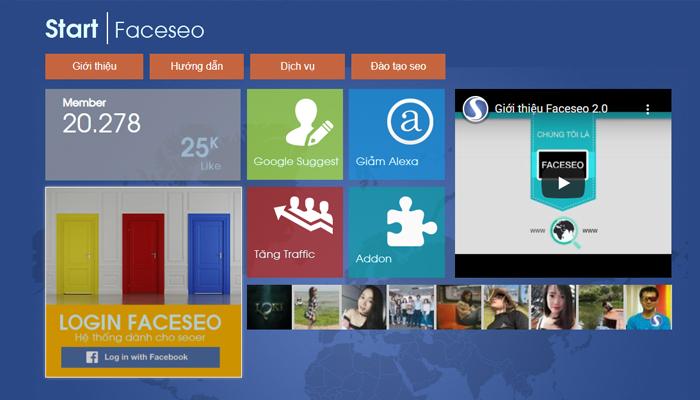 Công cụ tăng traffic website chất lượng - Faceseo.vn