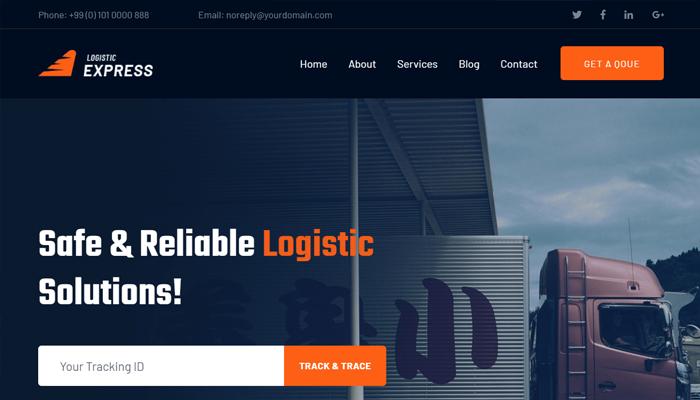 Thiết kế website vận tải là gì?